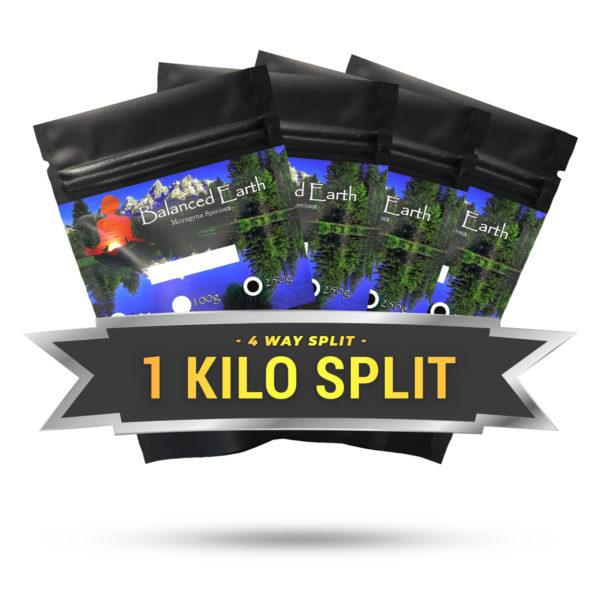 4 Way Split 1 Kilo (4 x 250g)