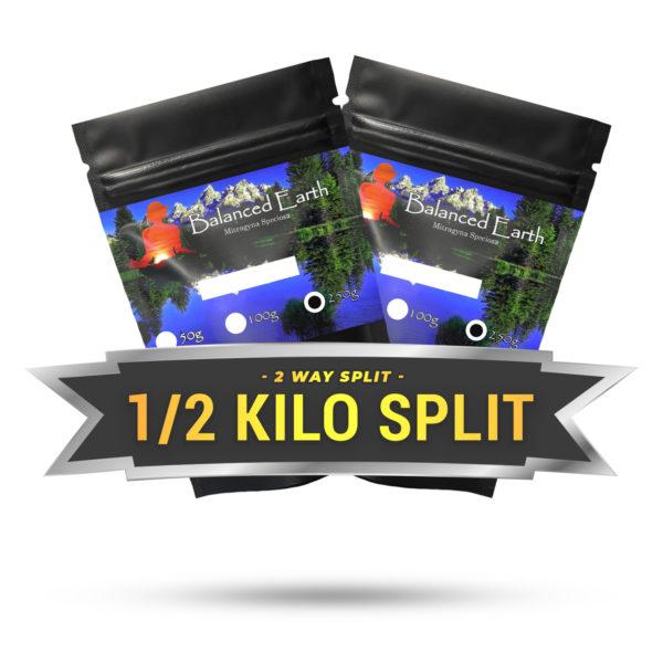 2 Way Split Half Kilo (2 x 250g)