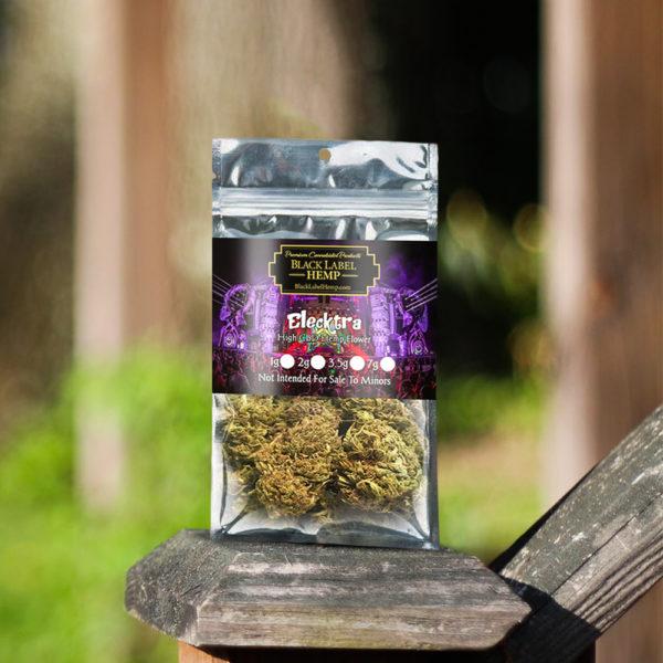 Elecktra Strain | CBD Hemp Flower