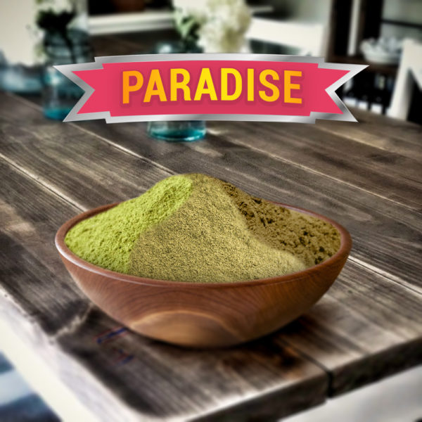 Paradise Blend- A blend of all our Kratom strains
