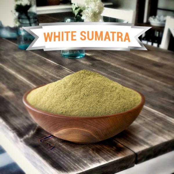 White Vein Sumatra Kratom Powder
