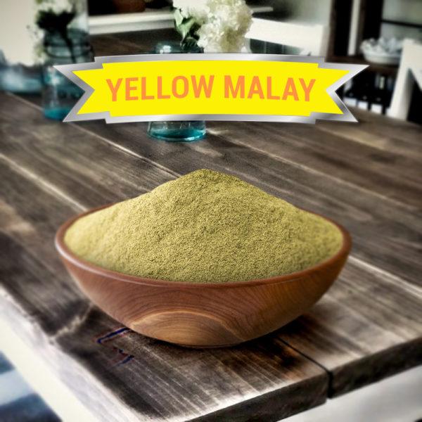 Yellow Malay Kratom Powder- Right from Malaysia!