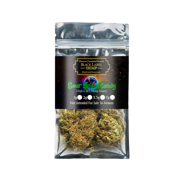 Sour Space Candy Strain | CBD Hemp Flower