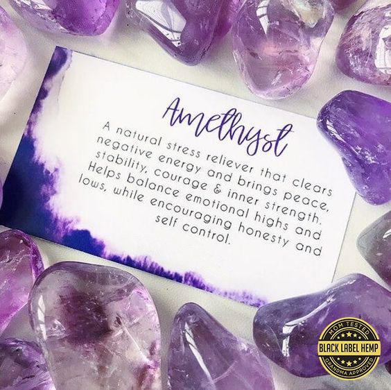 Amethyst Quartz Crystal (2 Count)
