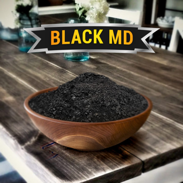 Black MD Kratom Powder