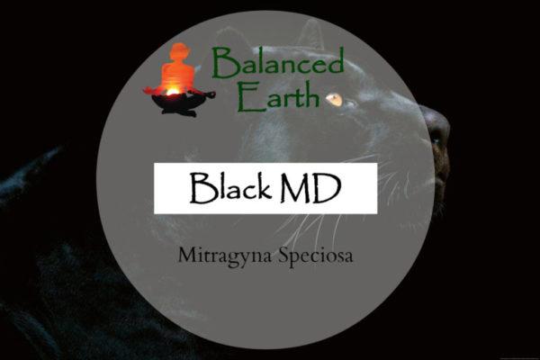 Black MD Kratom Powder