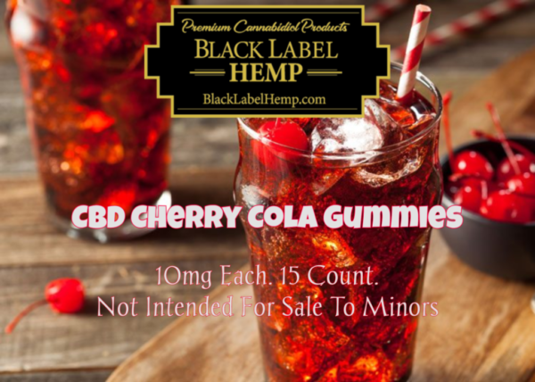 CBD Gummies | Sour Cherry Cola 10mg each 15 count