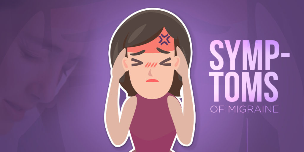 Symptoms of migraine