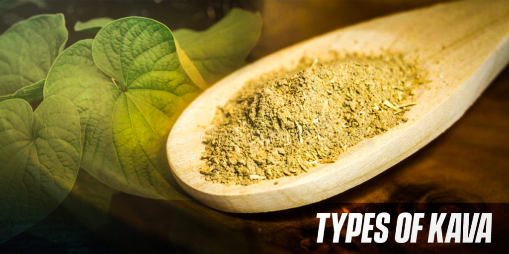 Types of kava