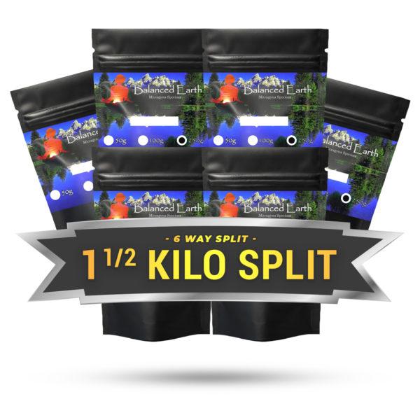 6 Way Split 1 1/2 Kilo (6 x 250g)