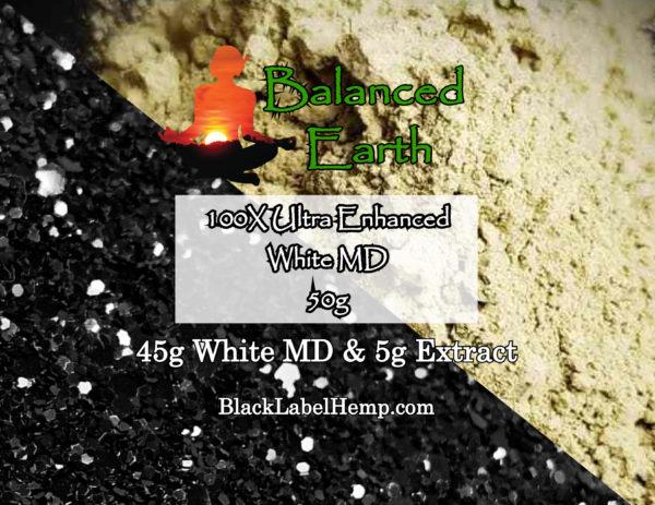White MD - Ultra Enhanced Kratom Powder 50G