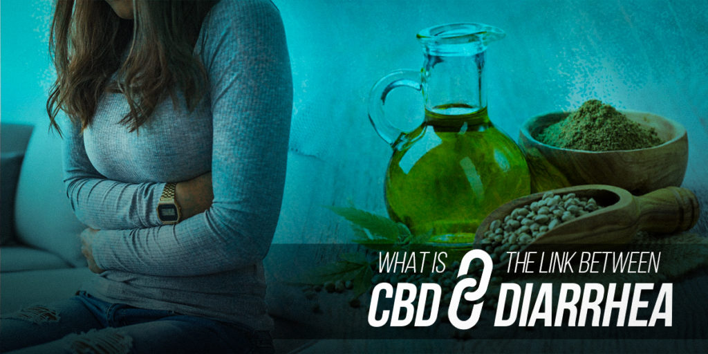 What is the link between CBD and diarrhea