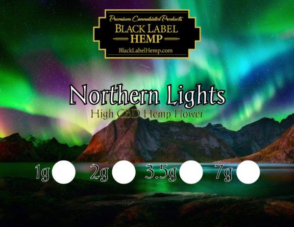 Northern Lights Strain | CBD Hemp Flower