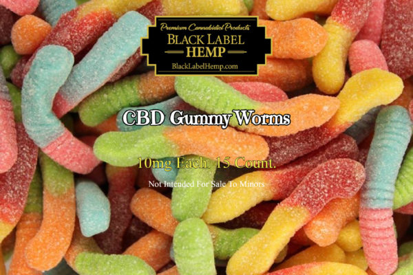 CBD Gummy Worms | 10mg each 15 count