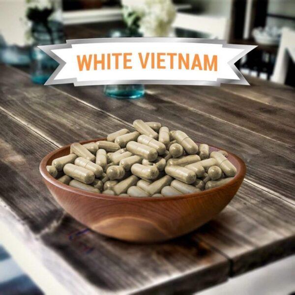 White Vietnam Kratom Capsules