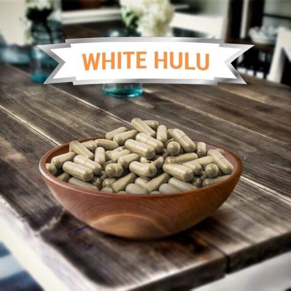 White Hulu Kratom Capsules