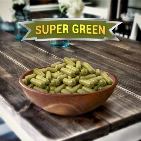 Super Green Kratom Capsules