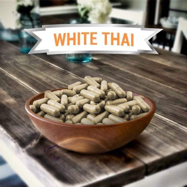 White Vein Thai Kratom Capsules