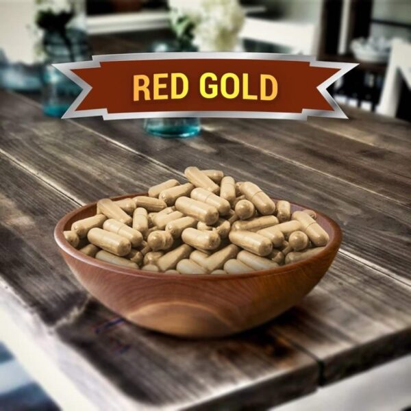 Red Gold Kratom Capsules