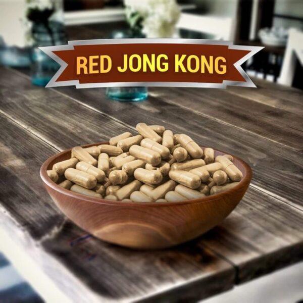 Red Jong Kong Kratom Capsules