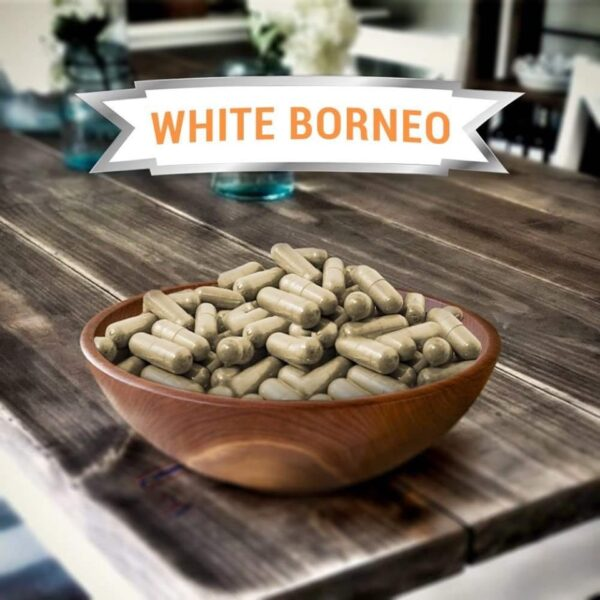 White Borneo Kratom Capsules