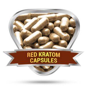 Red Kratom Capsules