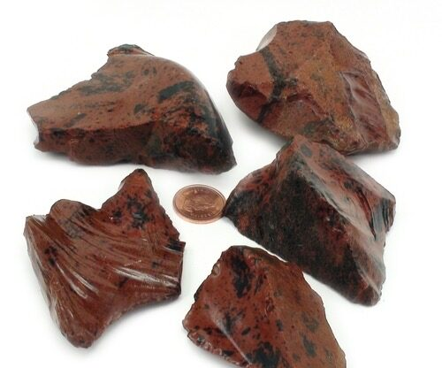 Obsidian Mahogany Crystals