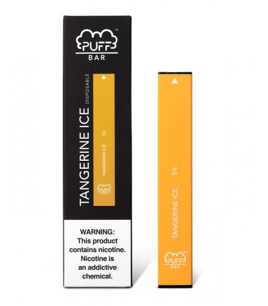 Puff Bar – Tangerine Ice 5% Salt Nic (Limited Edition)