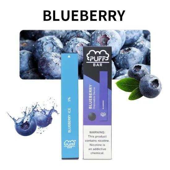 Puff Bar – Blueberry Ice 5% Salt Nic