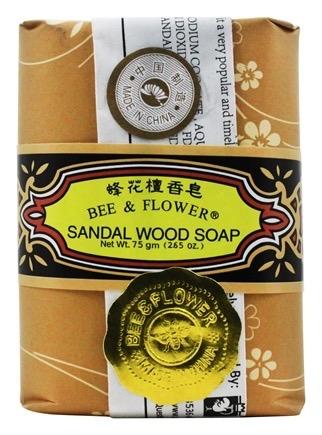 Bee & Flower Bar Soap - Sandalwood