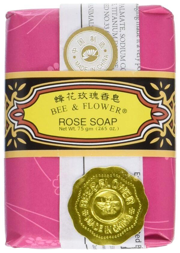 Bee & Flower Soap - Rose