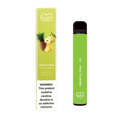 Puff Bar Plus 800 | 5% Salt Nic - Pineapple Pear