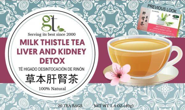Milk Thistle Tea | Liver & Kidney Detox