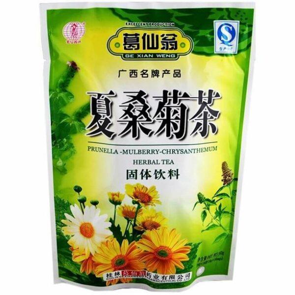 Prunella Mulberry Chrysanthemum Herbal Tea